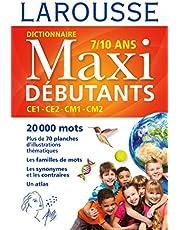 DICTIONNAIRE MAXI DÉBUTANTS 7/10 ANS