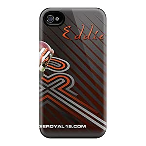 Protective Cell-phone Hard Covers For Iphone 4/4s With Allow Personal Design Trendy Denver Broncos Series SherriFakhry