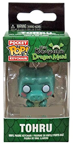 Funko Pocket Pop Tohru Miss Kobayashis Dragon Maid Hot Topic Exclusive Keyring