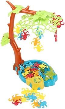 Mono Juego De Equilibrio Mono Que Cuelga En Un árbol Alrededor De Paternidad Juego Interactivo Del