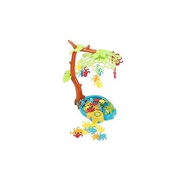 Mono Juego De Equilibrio Mono Que Cuelga En Un árbol Alrededor De ...