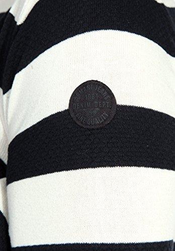 Armani Jeans Herren Pullover Weiß/Schwarz V6W03TC-C1