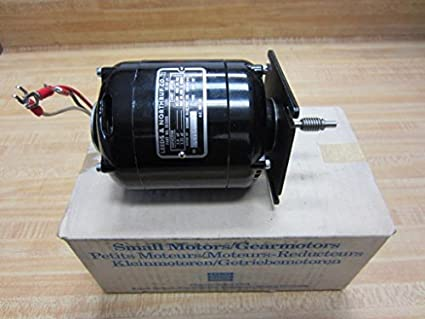 Bodine Electric 017209 AC Motor Leeds & Northrup NYC-12 120V ... on