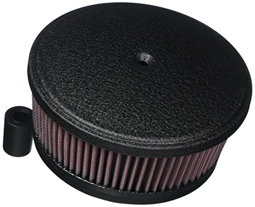 Arlen Ness 18-821 Black Big Sucker Stage II Air Filter Kit with Cover by Arlen Ness