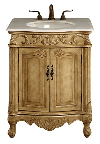 Elegant Decor VF-1002 Single Bathroom Vanity Set, 27