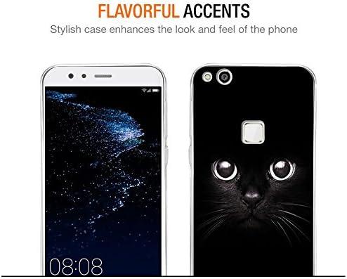 Eouine Funda Huawei P10 Lite, Cárcasa Silicona 3D Transparente con ...