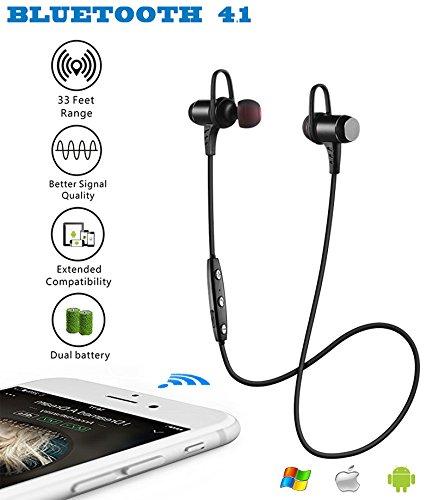bluetooth headphones ansion wireless bluetooth 4 1 sport headset ipx5 sweat. Black Bedroom Furniture Sets. Home Design Ideas