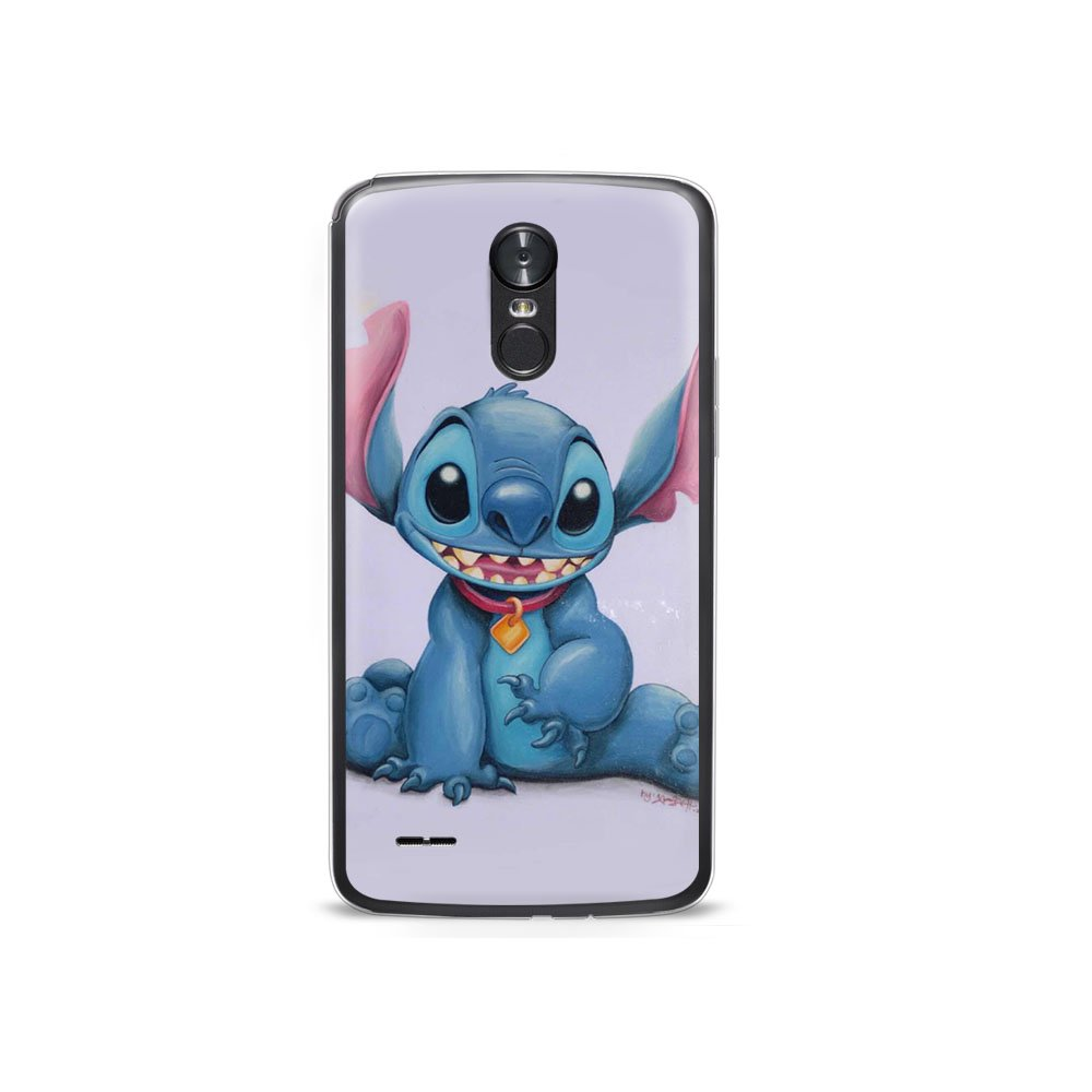 LG V20 Case, Ultra Thin Gel Lilo and Stitch Protective Soft TPU Silicone Cover Cute Cartoon Transparent Shockproof Shell Compatible for LG V20#A