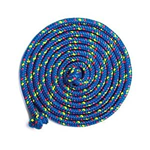 Just Jump It Blue Confetti 16' Jump Rope - Double Dutch Jump Rope - Agility Play