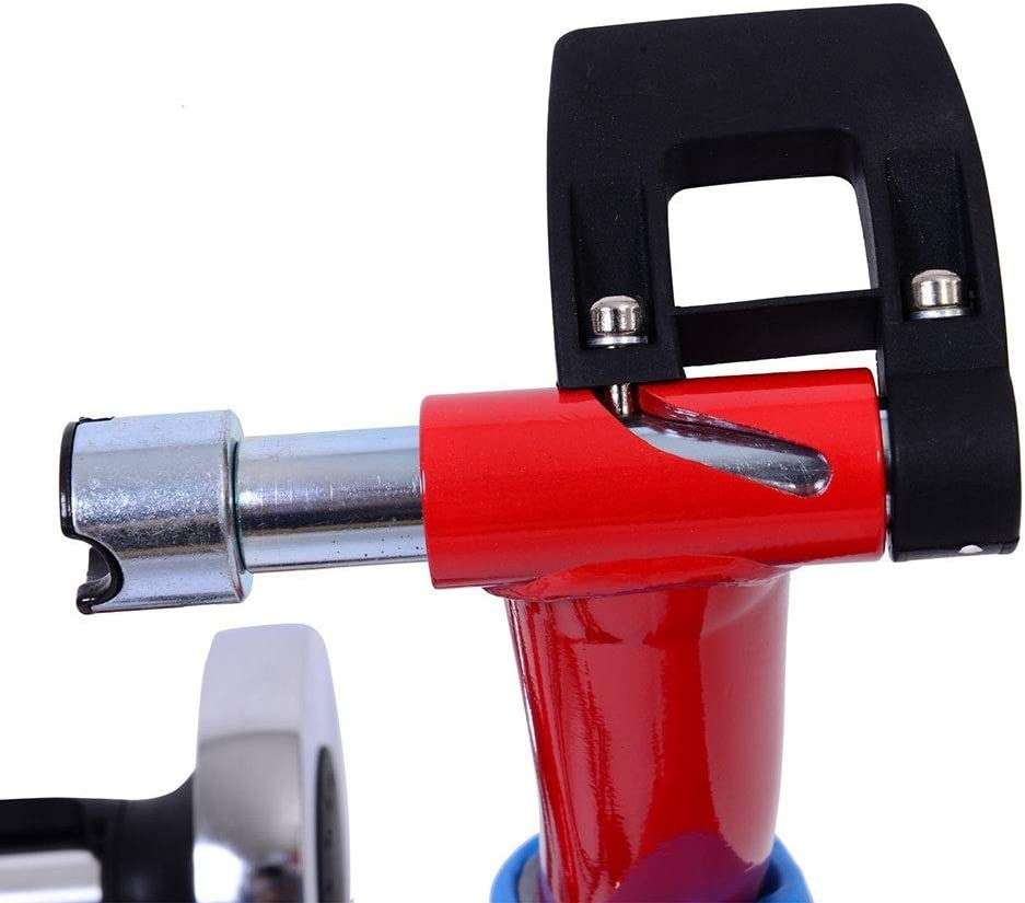 Rodillos para Bicicletas Ciclo del camino de monta/ña Bicicleta plegable de control de l/ínea Montar Plataforma Plataforma de Formaci/ón Magnetorresistivo Aparcamiento bastidor de equipo bicicleta roja p