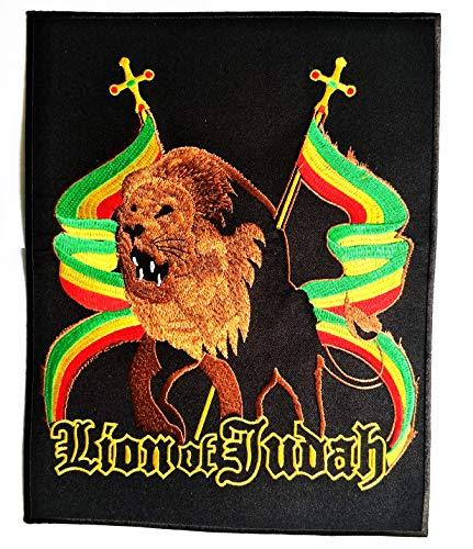8.8'' X 11.2'' XXL Size Lion of Judah Rasta Flag