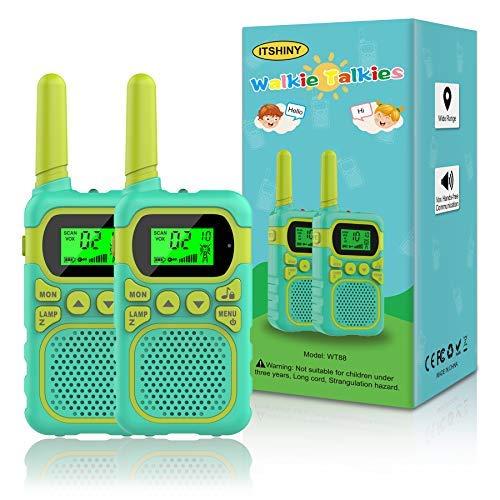 Excellent walkie talkie set!