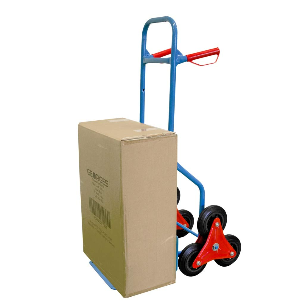 Carretilla de transporte para escaleras de Georges con 6 ruedas 200 kg. soporta hasta aprox
