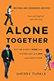 Book cover from Alone Together: Why We Expect More from Technology and Less from Each Other by Sherry Turkle