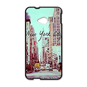 Canting_Good New york city Custom Case for HTC One M7(Laser Technology)