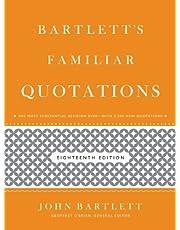 Bartlett's Familiar Quotations