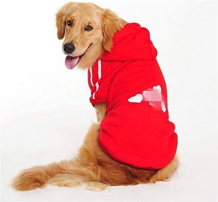 ML Ropa para Perros Big Dog Vestido de Primavera y Verano para Perros Grandes Ropa para