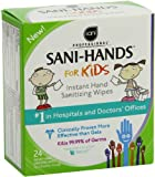 Sani-Hands Kids Instant Hand Sanitizer Wipes, 24 Count