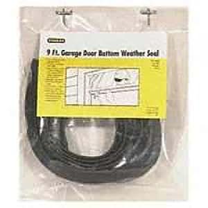 Stanley National S730-990 Garage Door Bottom Weather-strip, 9 ' L, Rubber