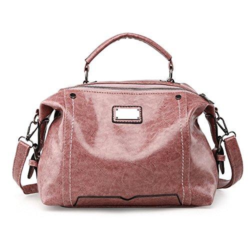 Spalla Colore Rosa Svago Modo Xiekua Tutto fiammifero Bag Di Bulk Sacchetto Meaeo Nero Pacchetto Del Rgqw5x