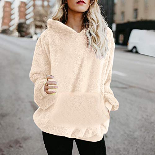 Zip Donna Felpe Lunghe Ragazza Cerniera Sweatshirt Con Giacca Inverno Beige Forti Cotone Maniche Eleganti Taglie Tumblr 2 Beautyjourney Cappuccio Outwear qBgtwYY