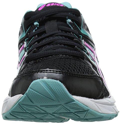 Asics Gel-Contend 3Zapatilla de Running de la mujer Black-PinkGlow-AquaSplash