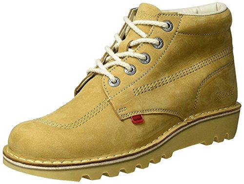 Kickers Kick Hi Core Tan Natural Leather Mens Boots-46