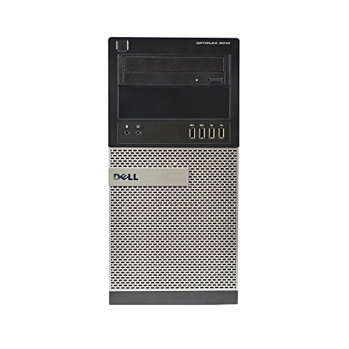 Dell 9010 Tower, Core i7-2600 3.4GHz, 8GB RAM, 2TB Hard Drive, DVDRW, Windows 10 Pro 64bit (Renewed)
