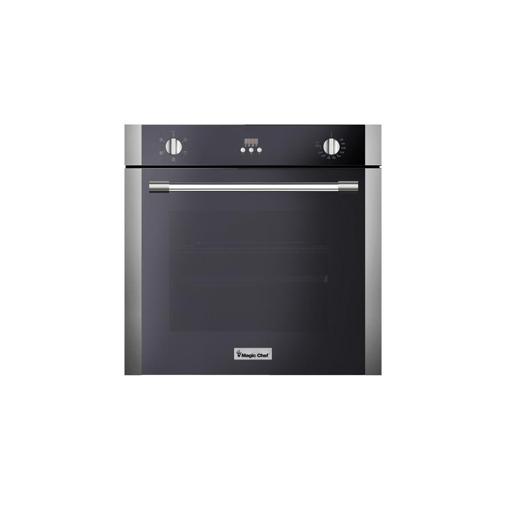 "Magic Chef Electric MCSWOE24S 24"" 2.2 cu. ft. Single Wall Oven with Convection, Stainless Steel"
