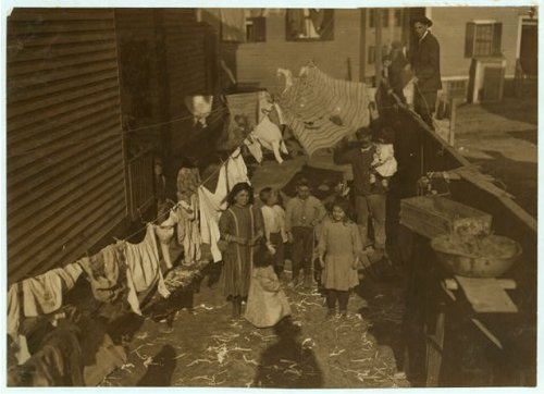 HistoricalFindings Photo: Housing Conditions,Republican Street,Providence,Rhode Island,Labor Housing