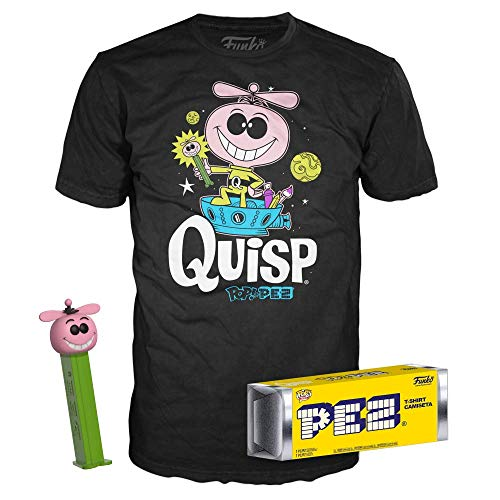 Funko Quisp Pez with Large Tee Bundle Limited Edition (XL) ()