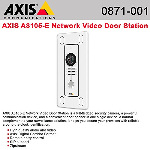 (AXIS Communications 0871-001 A8105-E Door Station)