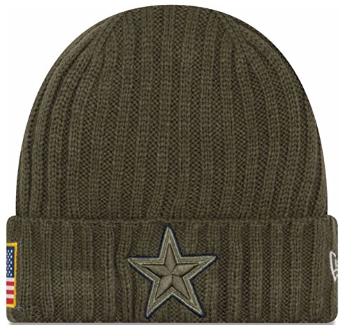 Dallas Cowboys Salute to Service 2017 Knit - Dino Hats Run