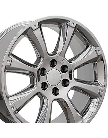 2fce05ff61c10f OE Wheels 22 Inch Fits Chevy Silverado Tahoe GMC Sierra Yukon Cadillac  Escalade CA84 Chrome OEM