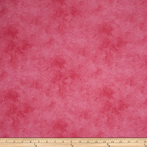 P & B Textiles Suede Soft Hues Pink Fabric by The Yard