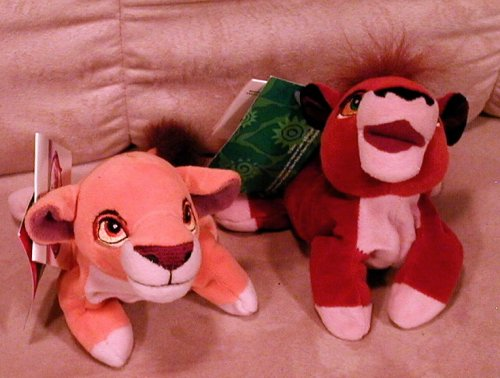 Disney's Kiara and Kovu From the Lion