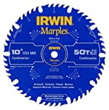 Irwin Tools  1807368 Marples Laser Cut 10-Inch 50-Tooth Alternate Tooth Bevel with...
