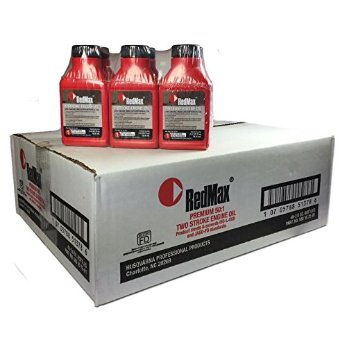 RedMax Case of 48 OEM MaxLife 2-Cycle Oil 2.6oz 1 Gallon Mix 580357201 by RedMax