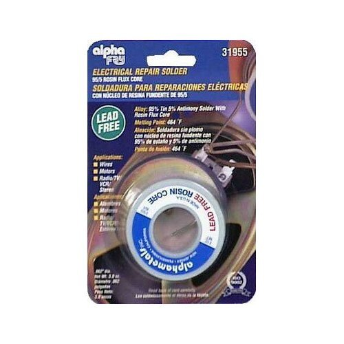 ALPHA METALS AM31955 .062 Diameter Spool Electrical Solder, 3 oz