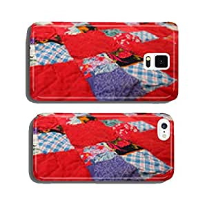 patchwork quilt from the country house interior cell phone cover case Samsung S5