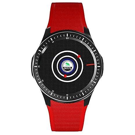 Revwtommy Smartwatch Relojes Deportivo Teléfonos Inteligentes Reloj Pulsómetros/Contador de Calorias/Monitor de Sueño/Contador de Pasos Soporte Facebook SMS ...