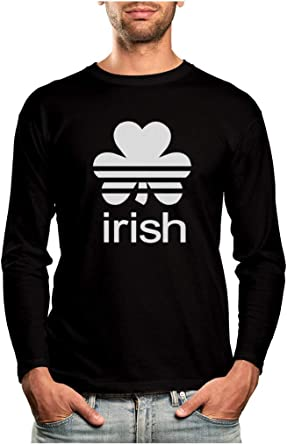 Irish Shamrock Kids T-Shirt For St Patrick/'s Day Patty/'s Four Leaf Clover Crew