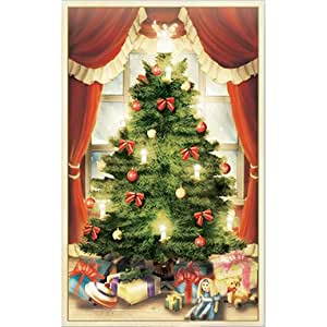Flower Soft Card Toppers - Christmas-Christmas - Traditional Tree Topper