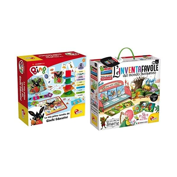 Lisciani Giochi 75867 Bing Raccolta Giochi Educativi Baby & Giochi- Giocare Educare, Life Skills, 72644 1