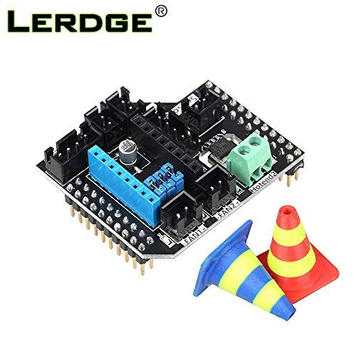 Price comparison product image Value-Home-Tools - 3D Printer Parts 2 in1 Out 2 in2 Out Module Dual Extruder Module Double Extrusion Printhead Expansion for LERDGE-S Board parts