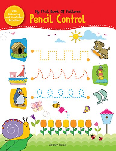 - My First Book of Patterns Pencil Control: Practice Patterns (Pattern Writing)