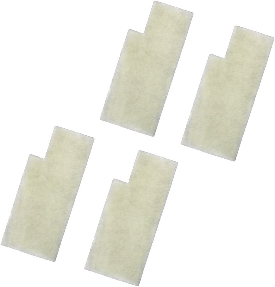 HQRP 4-Pack Secondary Filters Compatible with Hoover Anniversary Self-Propelled U6485900 U6485900B UH50000 UH50005B Bagged Upright Vacuums Coaster