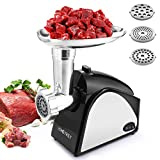 Electric Meat Grinder, 2000W Meat Mincer, Food Grinder, Sausage...