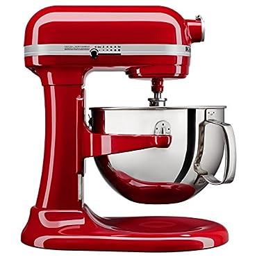 KitchenAid KL26M1XER Professional 6-Qt. Bowl-Lift Stand Mixer Empire Red