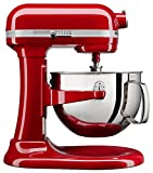 #6: KitchenAid KL26M1XER Professional 6-Qt. Bowl-Lift Stand Mixer - Empire Red